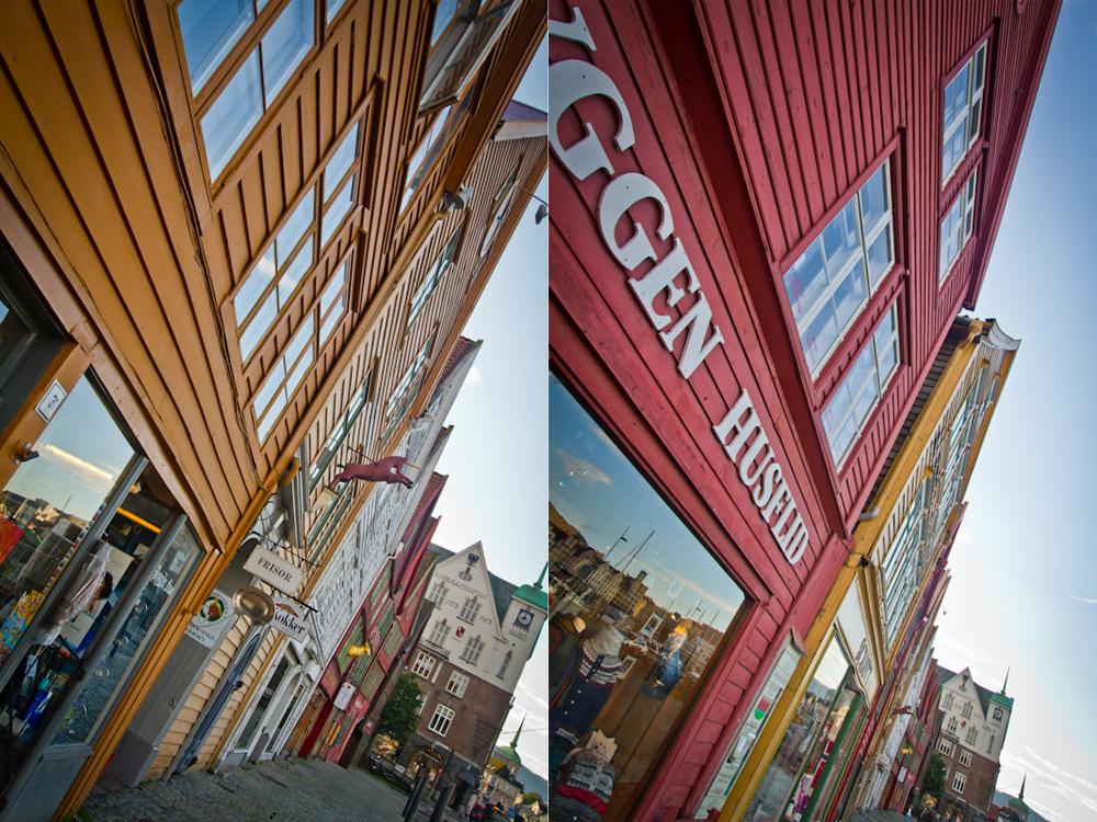 Zabytkowa dzielnica Bryggen
