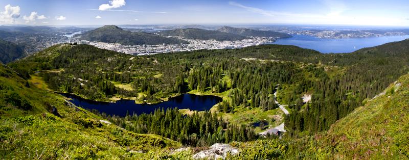 Okolice Bergen