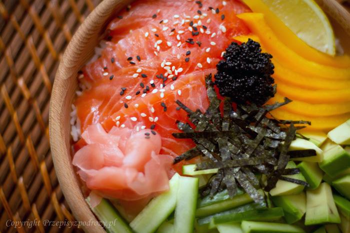 Chirashi-zushi - najprostsze, domowe sushi