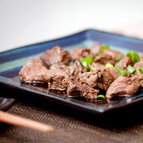 Japońska wołowina z warzywami i sosem teriyaki