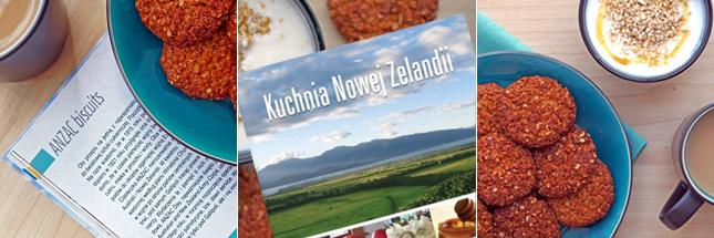 Ciasteczka Anzac i kuchnia Nowej Zelandii