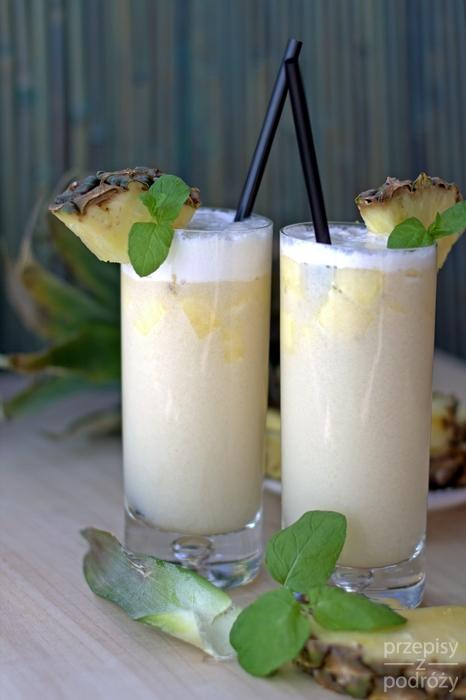Drink Nikita z wyspy Madera