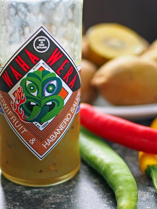 Nowozelandzki sos z chilli i kiwi