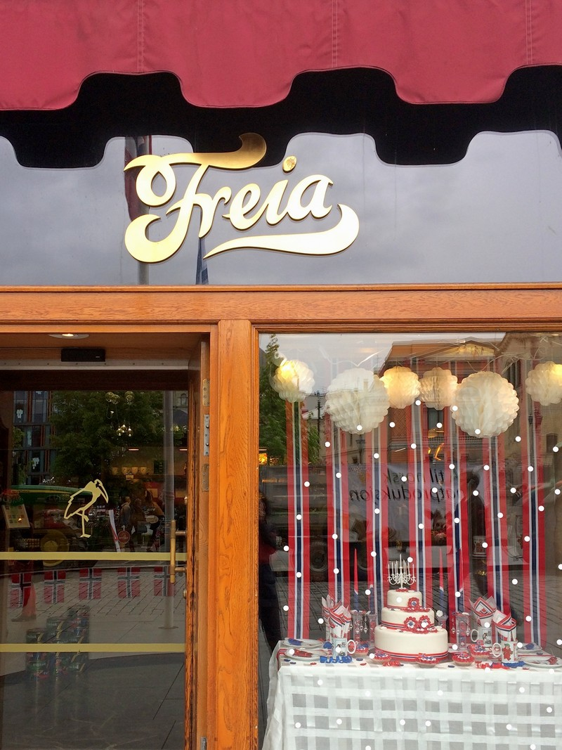 Sklep Freia w Oslo