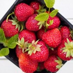 Riskrem med jordbærsaus Norweski deser ryżowy z sosem truskawkowym