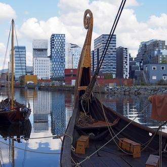 Forbundet Kysten. Festiwal łodzi w Oslo