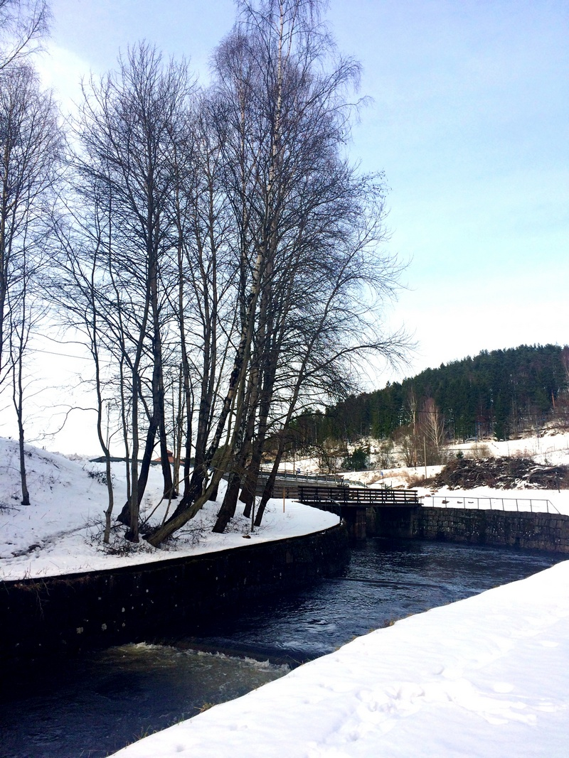 Spacer wzduż rzeki Akerselva w Oslo