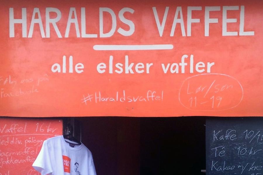 Najlepsze gofry w Oslo