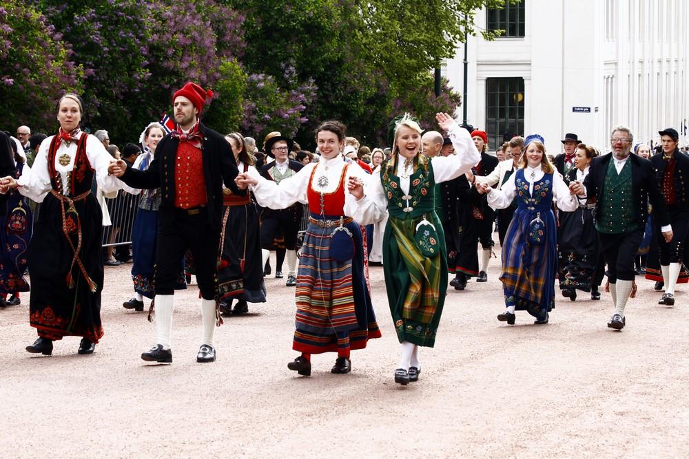 17 maja - Norweskie Świeto Narodowe w Oslo