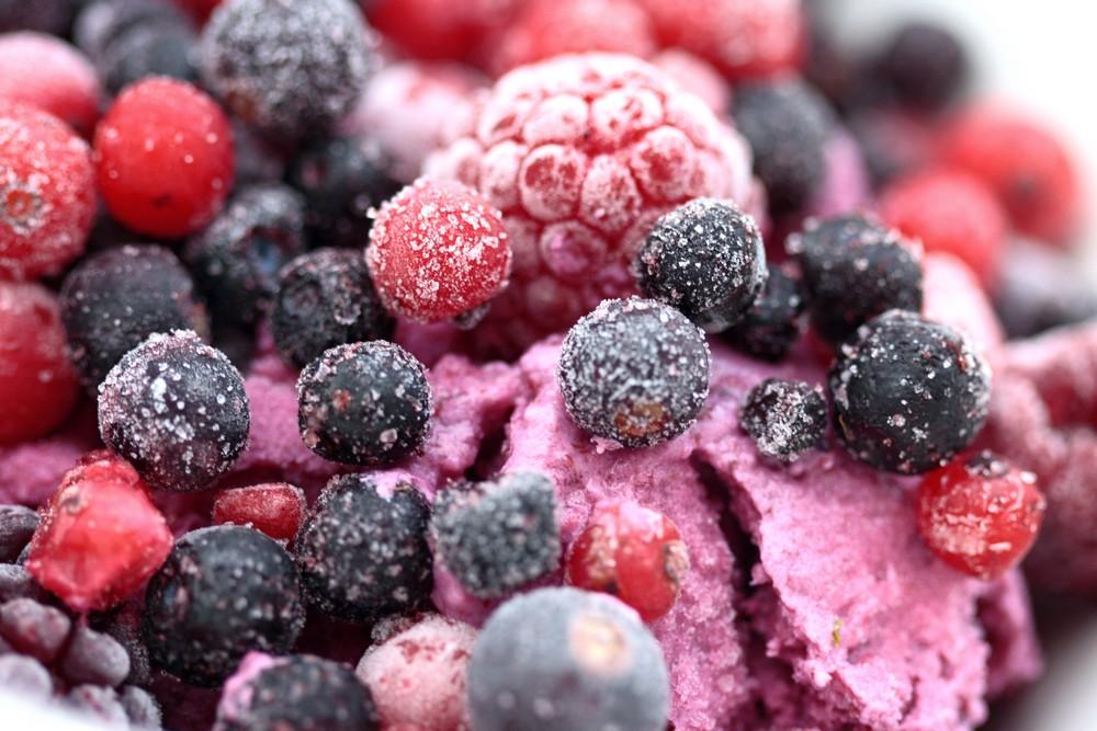 Owocowe lody domowe