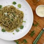 Spaghetti alle erbe. Aromatyczny makaron z ziołami