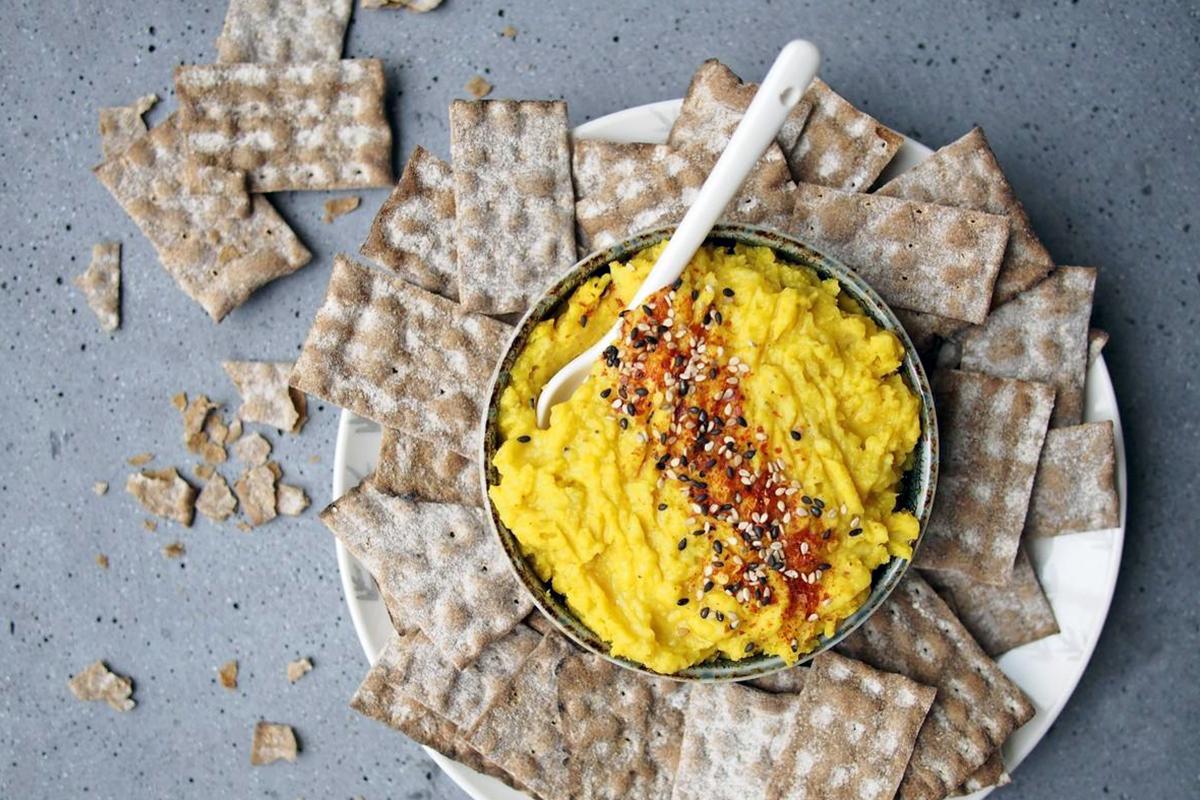 Hummus z batatów