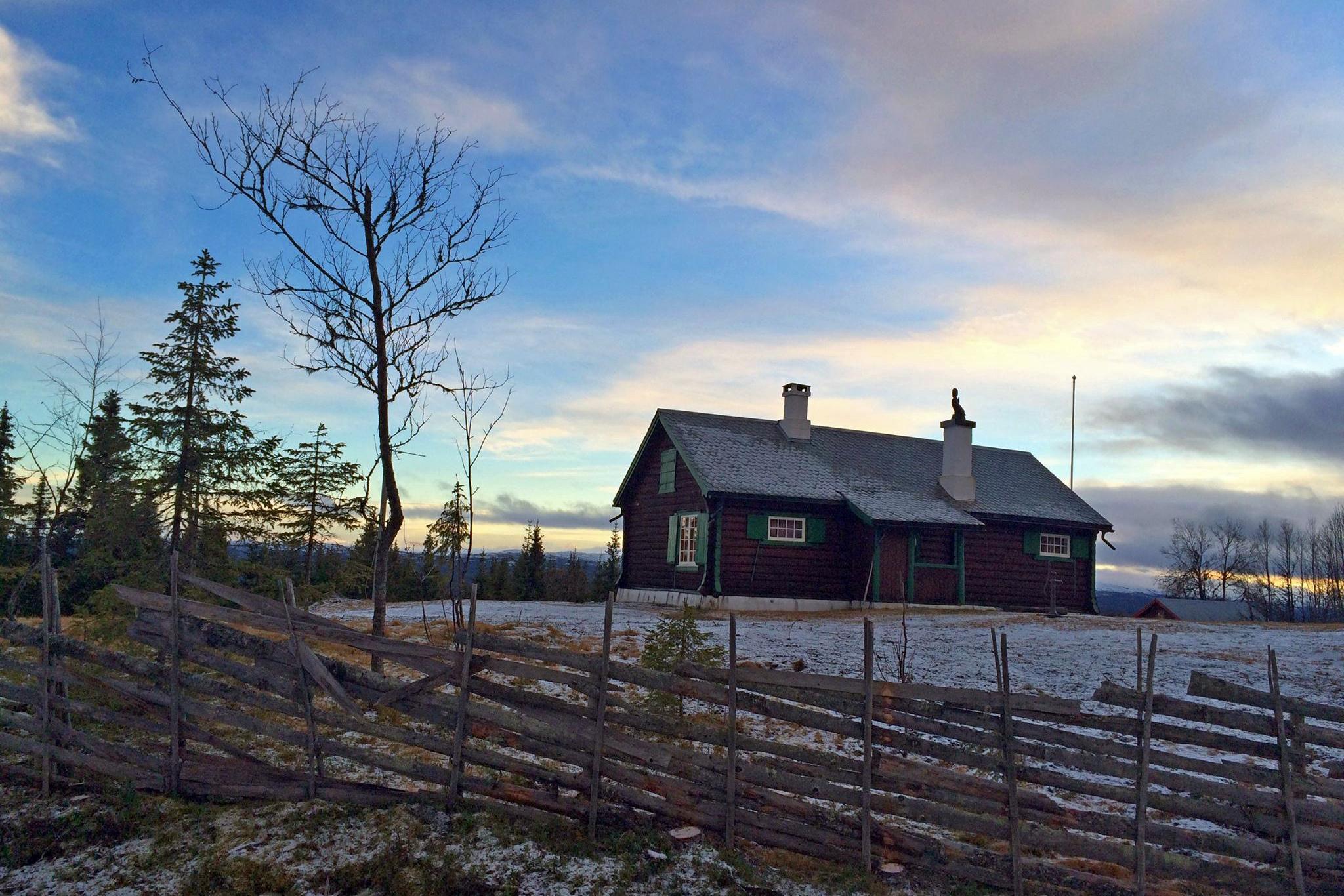 Weekend w norweskiej chatce