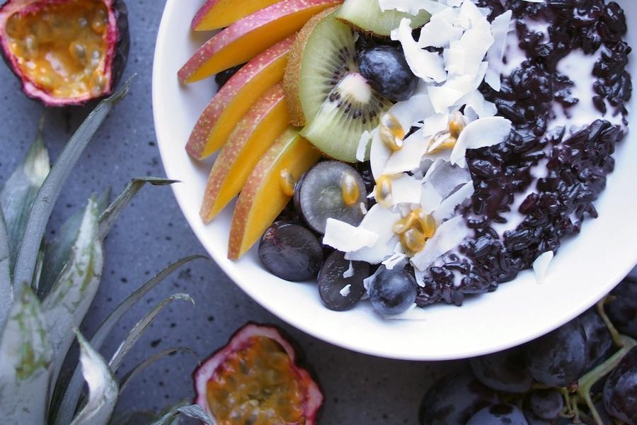 Pudding z czarnego ryżu