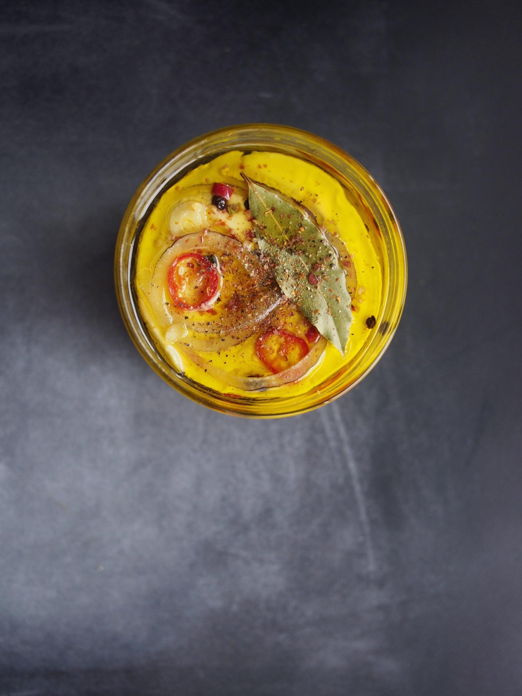 Marynowany camembert po czesku