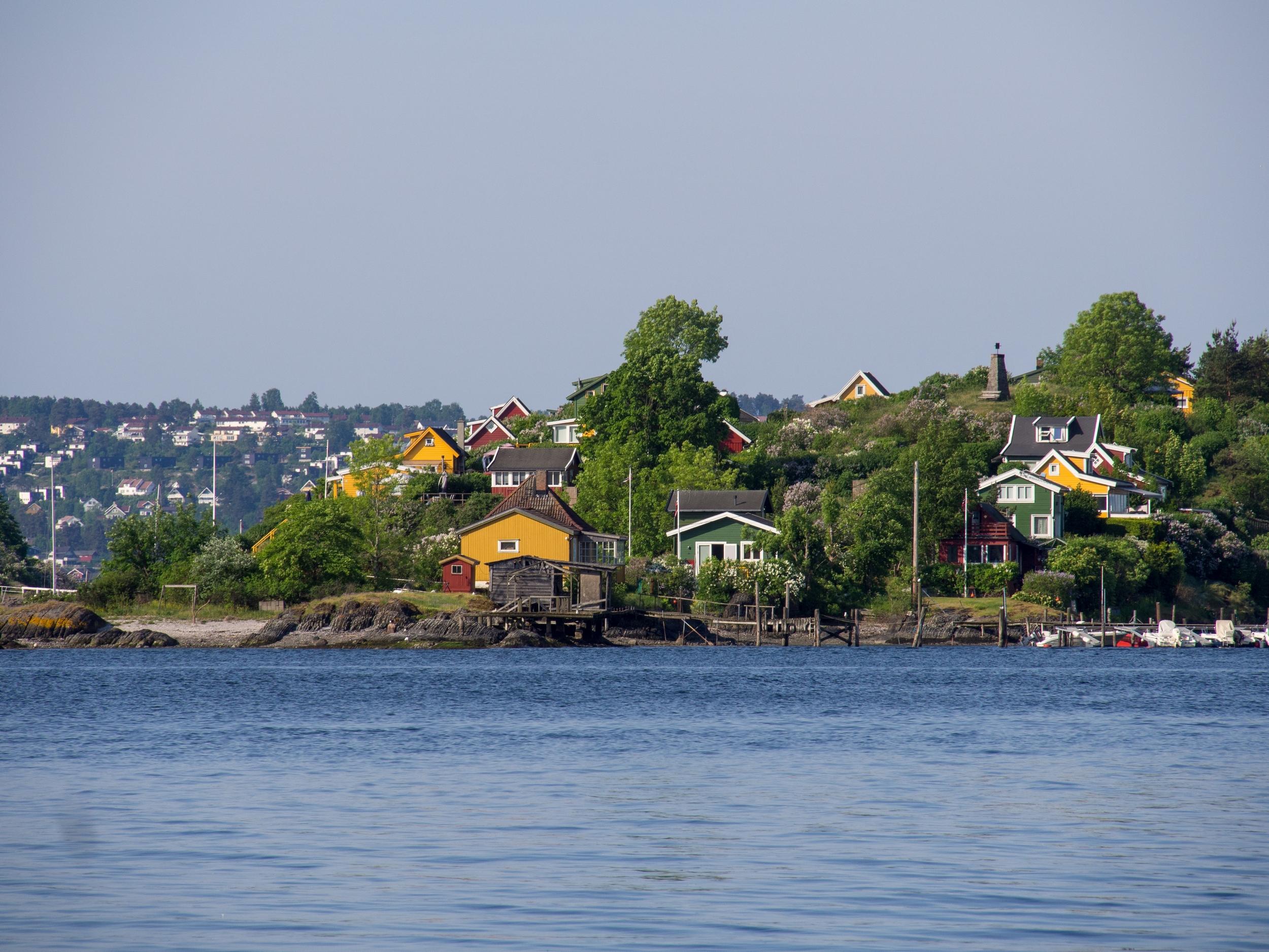 Wyspy na Oslofjorden