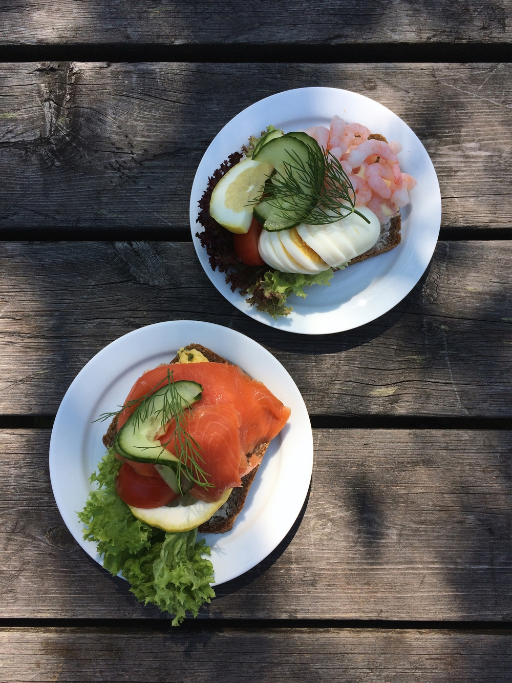 Norweska kuchnia. Krewetki
