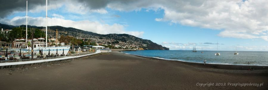 Plaża w Funchal