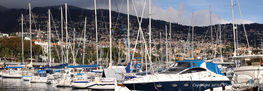 Marina w Funchal