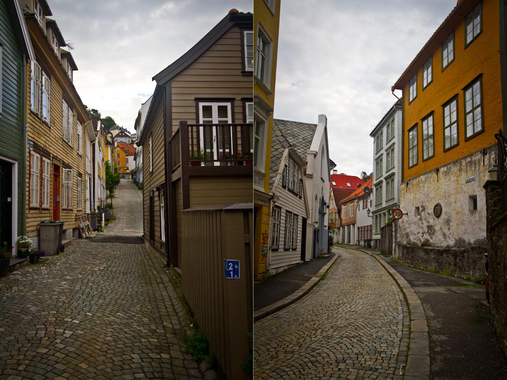 Uliczki Bergen
