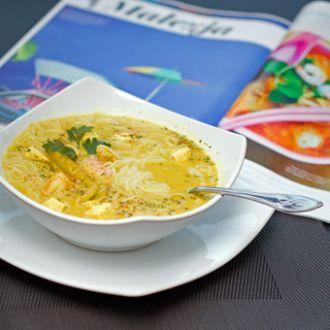 Azjatycka zupa laksa