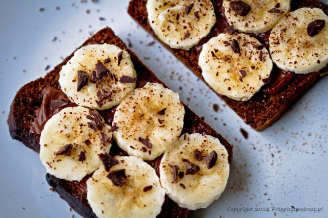 Amerykański chleb bananowy