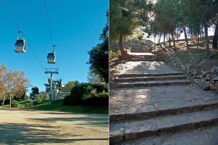 The Parc de Montjuïc