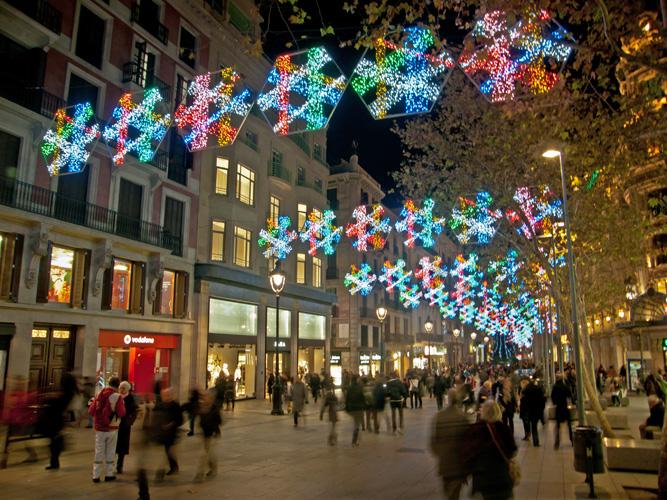 Świąteczna Barcelona