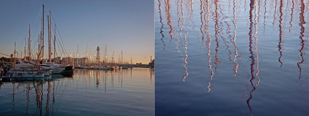 Port Vell i Rambla de Mar