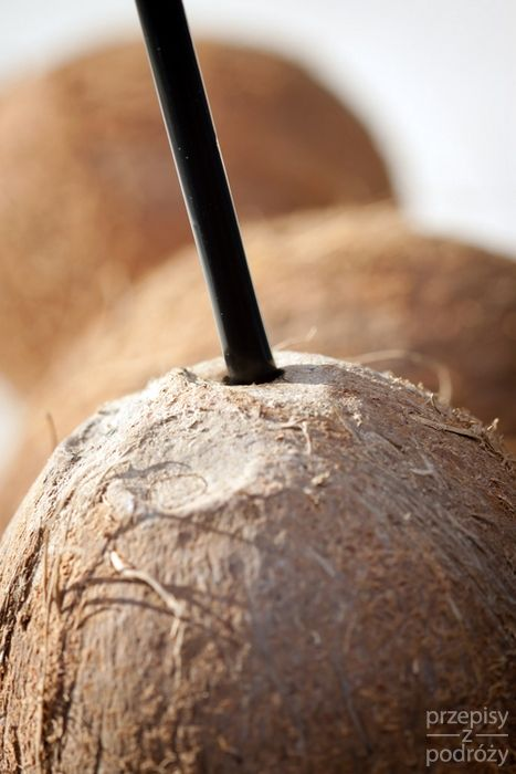 Hawajski, kokosowy deser