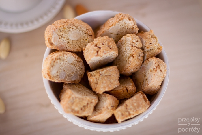 Toskańskie ciasteczka Biscotti