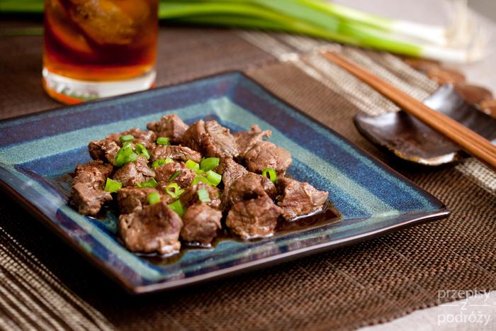 Japońska wołowina teriyaki