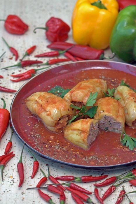 Węgierska faszerowana papryka