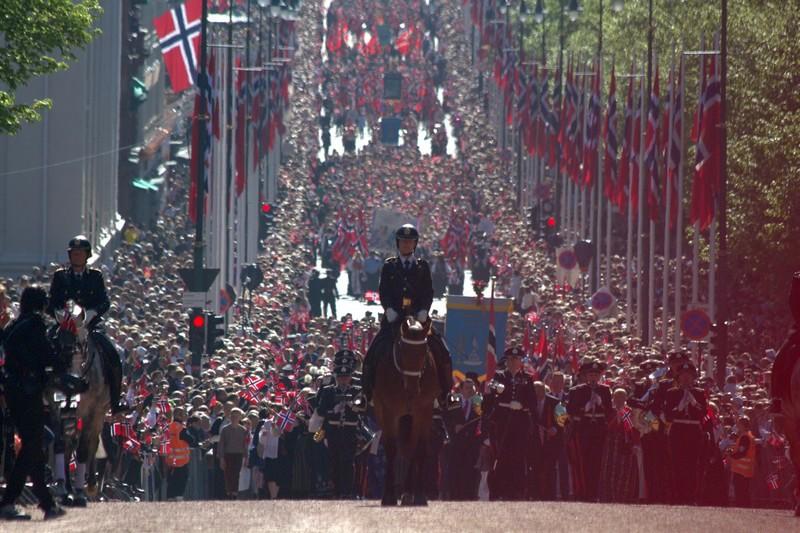 17 maja w Oslo. Ja, vi elsker dette landet.
