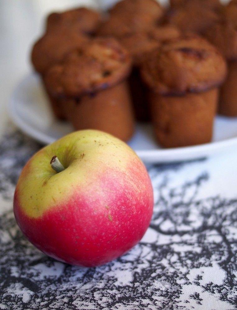 Muffiny jabłkowo-cynamonowe