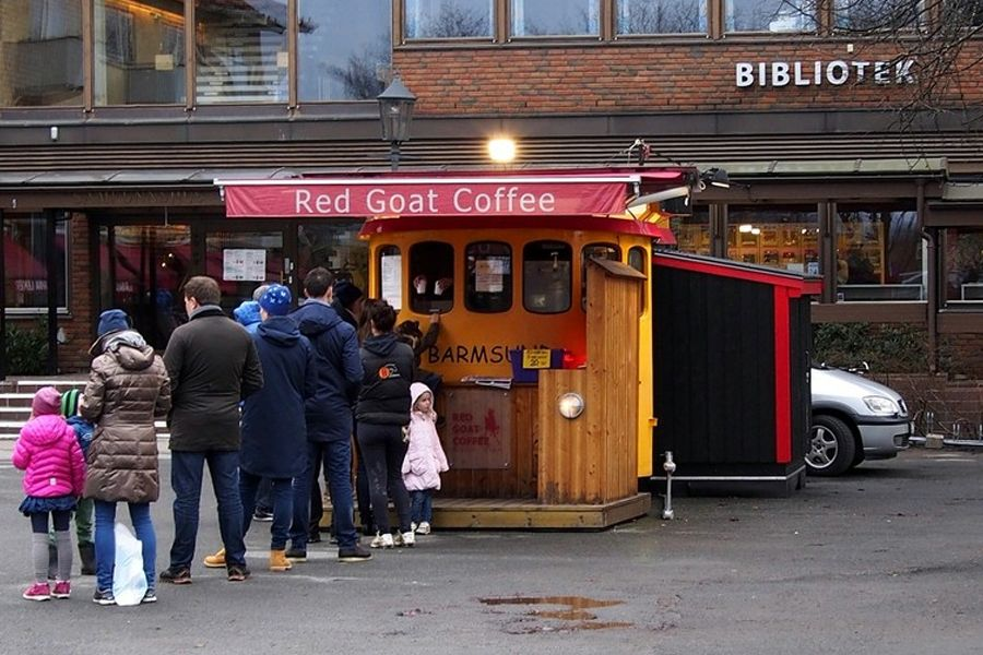 Red Goat Coffee Oslo