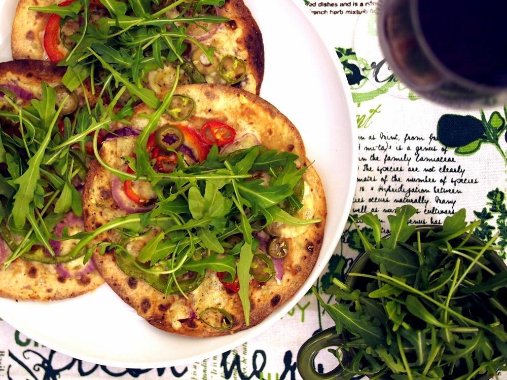 Norweska pizza wegetariańska