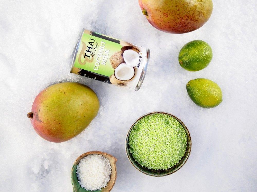 Mango tapioka