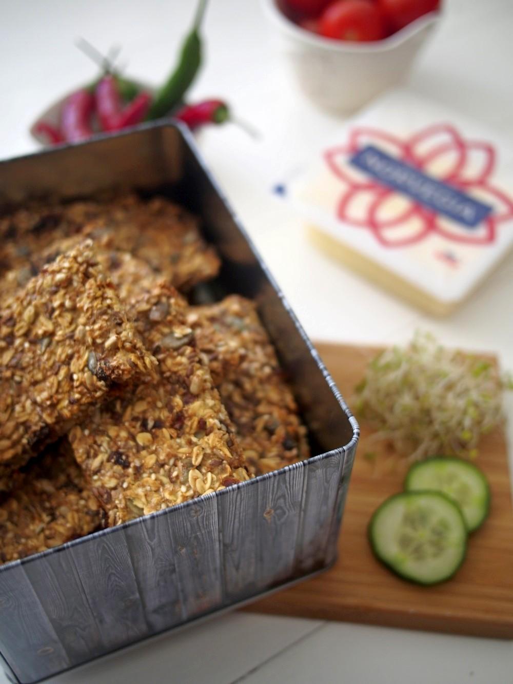 Norweski chlebek chrupki knekkebrød