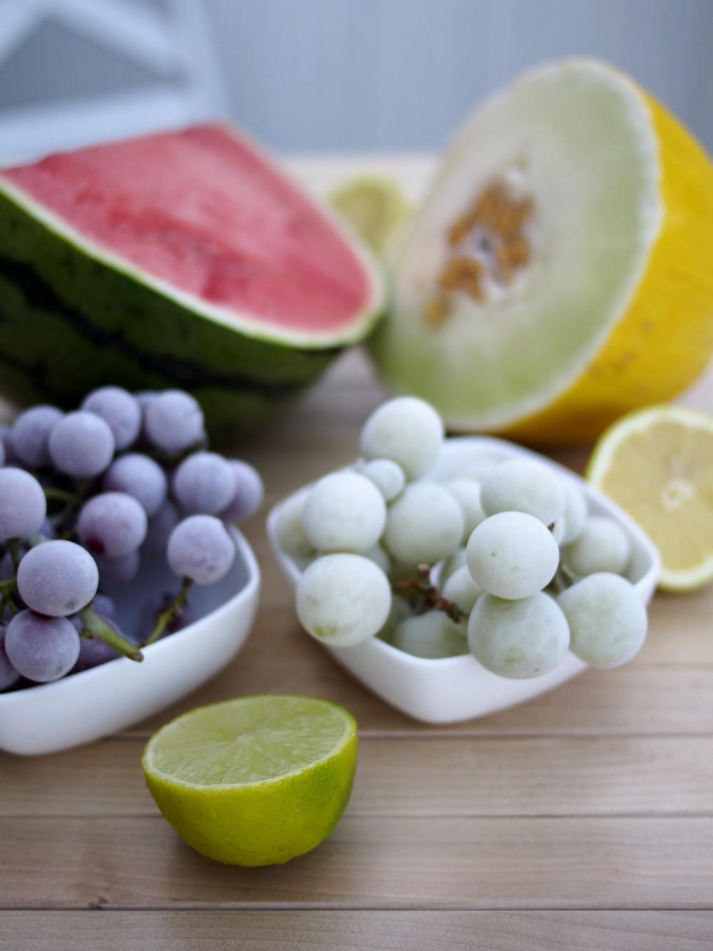 Owocowe smoothie orzeźwiające