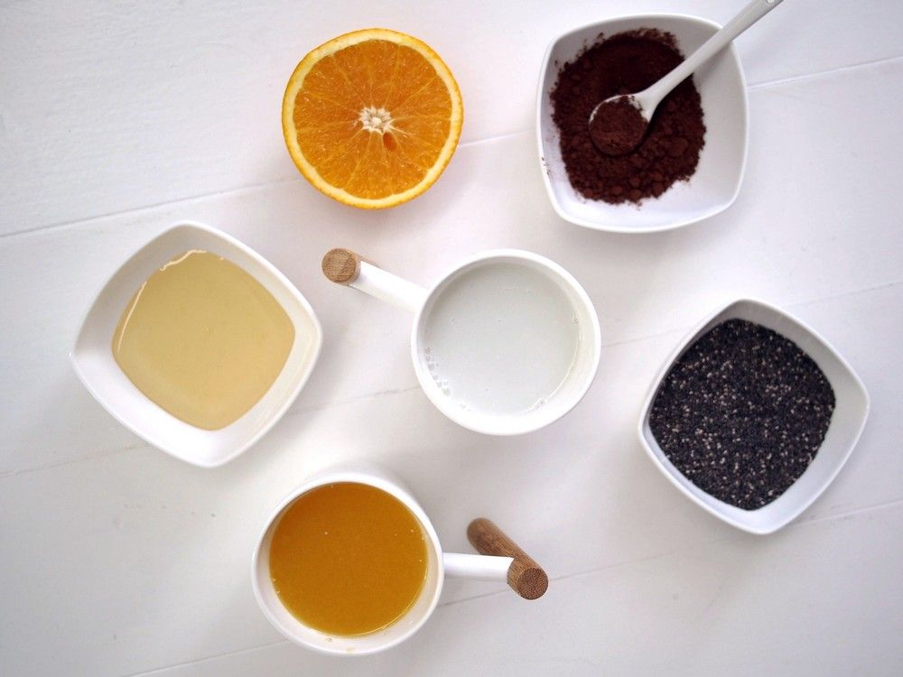 Czekoladowo-pomarańczowy pudding chia