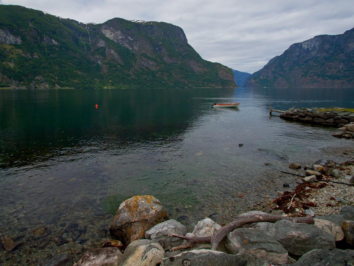 Aurland. Norwegia