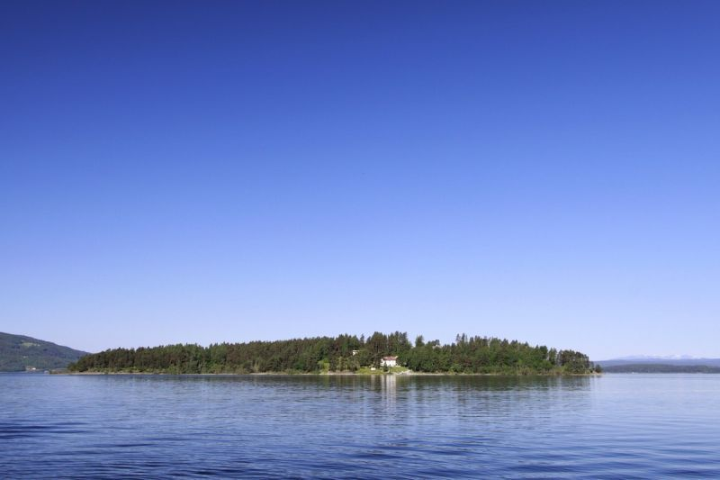 Tyrifjorden, Utøya