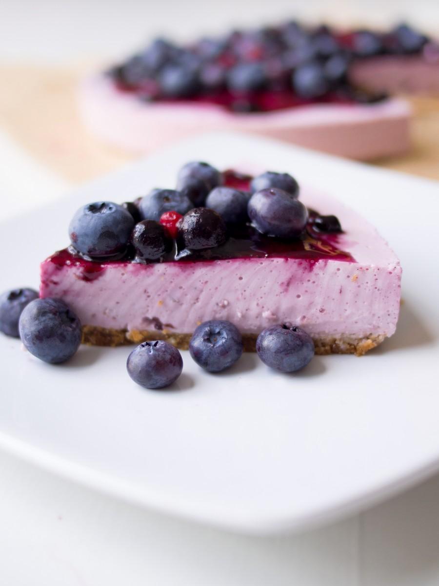 Skyr cake - islandzki sernik na zimno