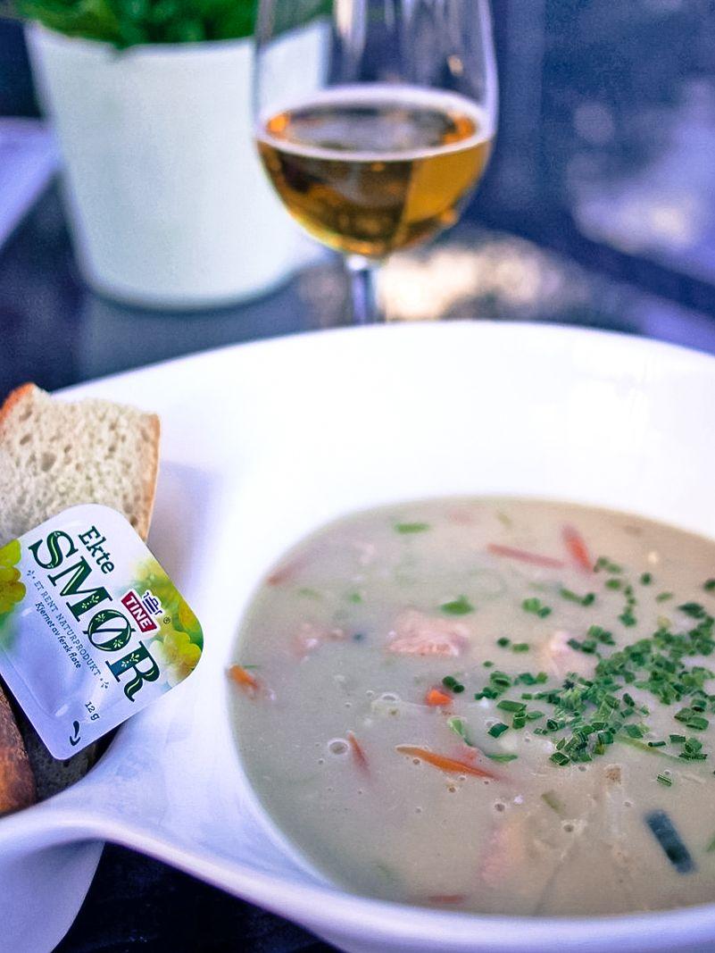 Fiskesuppe - norweska zupa rybna z Kragerø