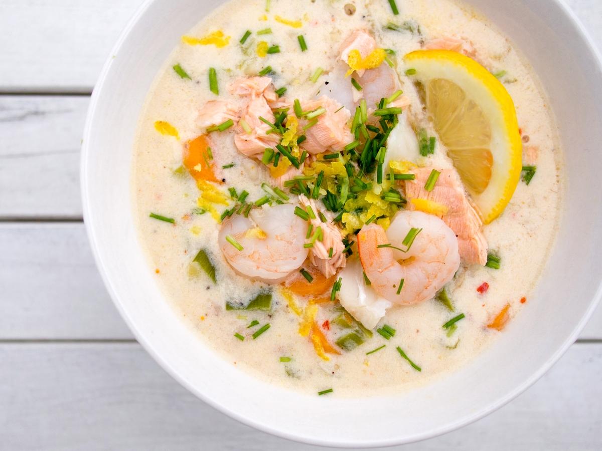 Fiskesuppe - norweska zupa rybna
