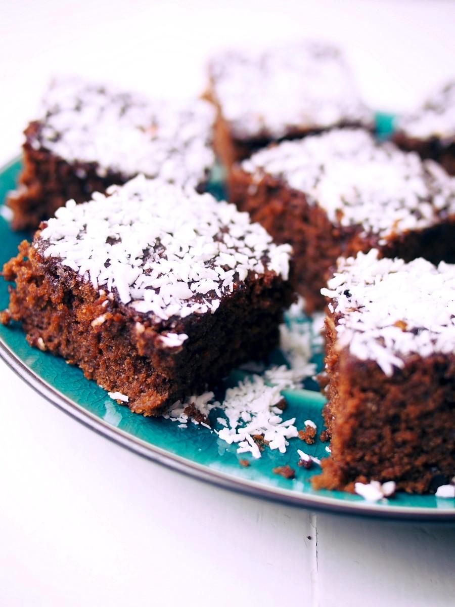 Islandzkie ciasto czekoladowe - skuffkaka