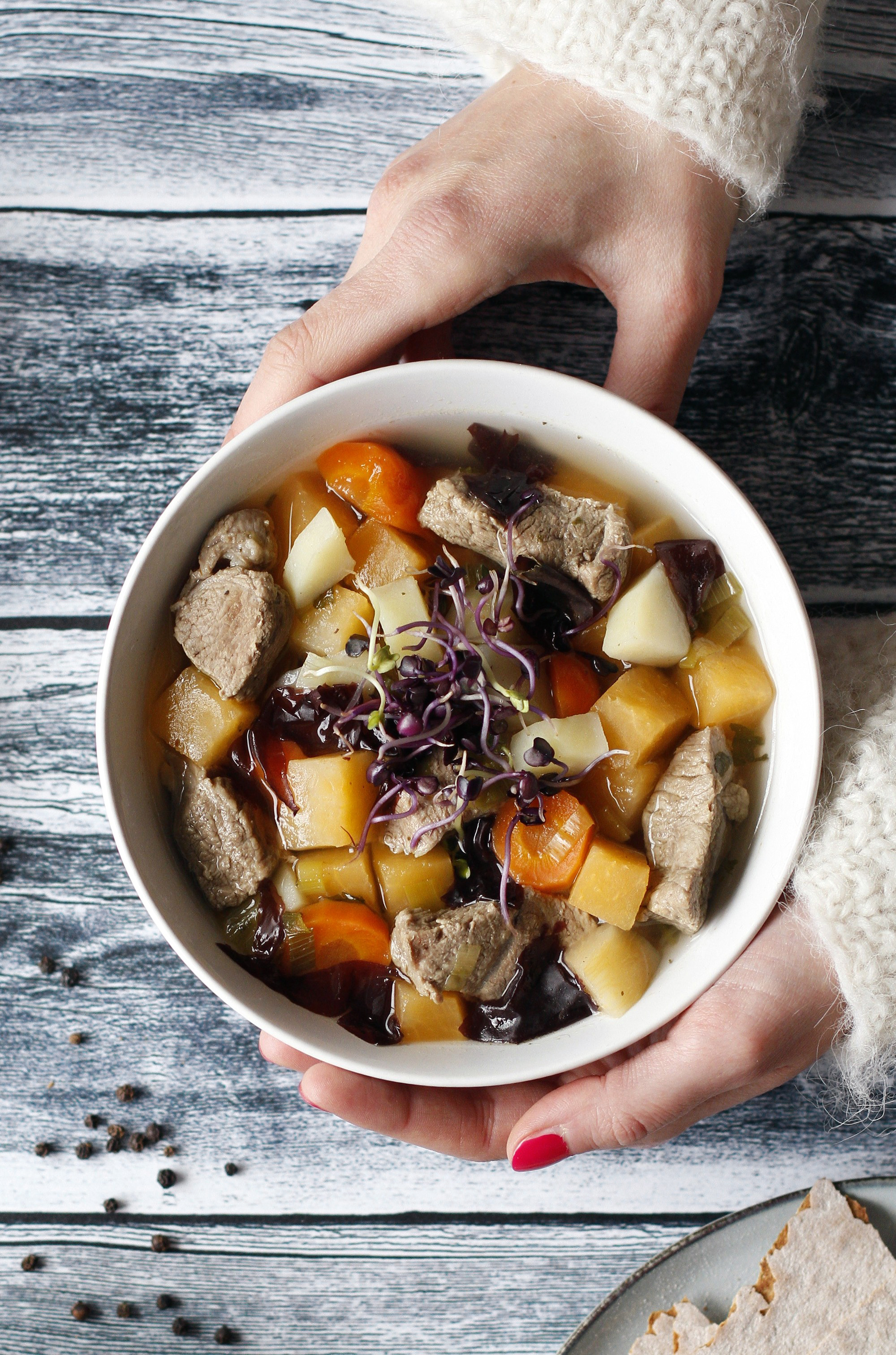 Kjötsúpa. Islandzka zupa mięsna