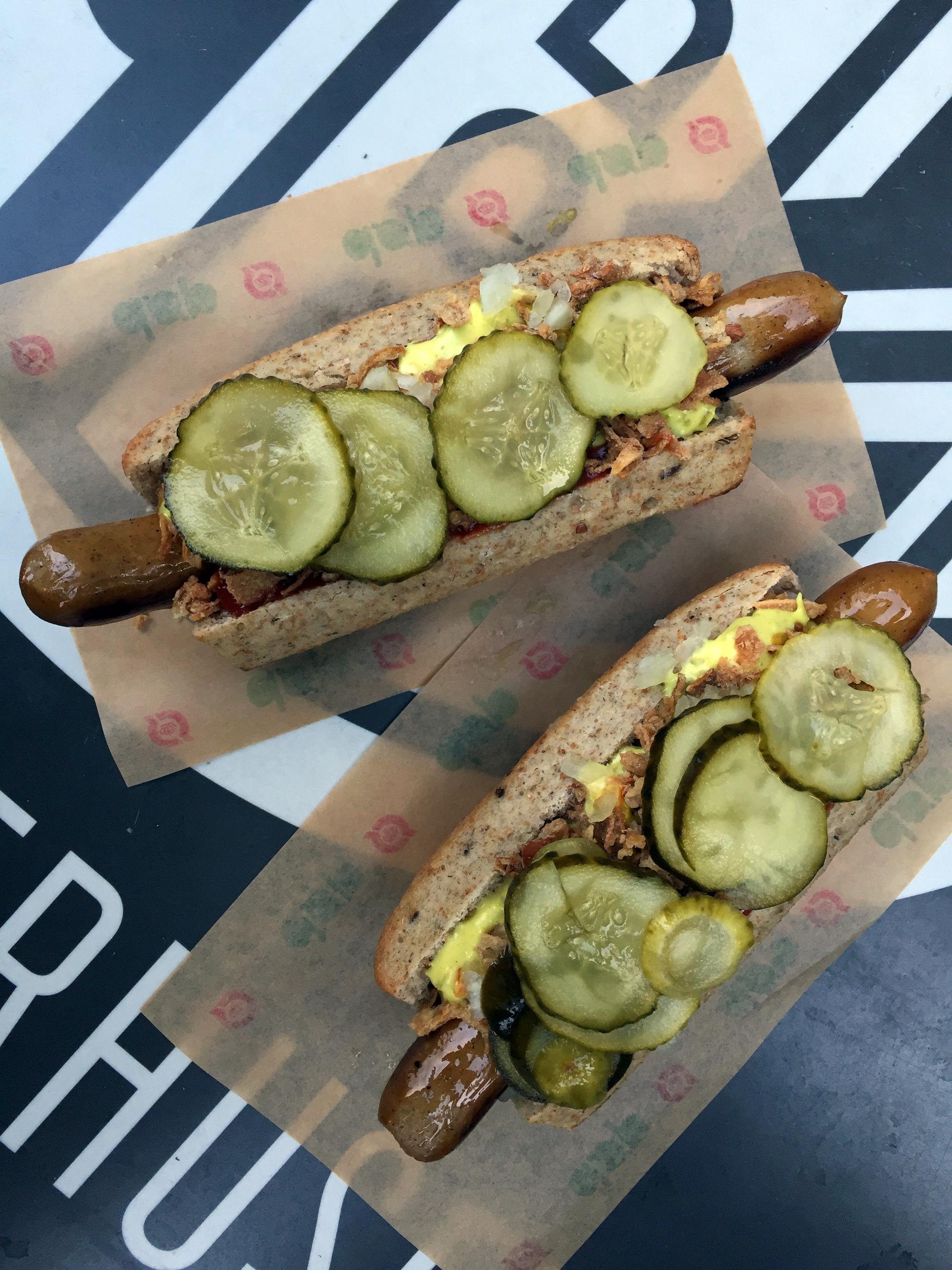 Duńskie hot-dogi od Døp