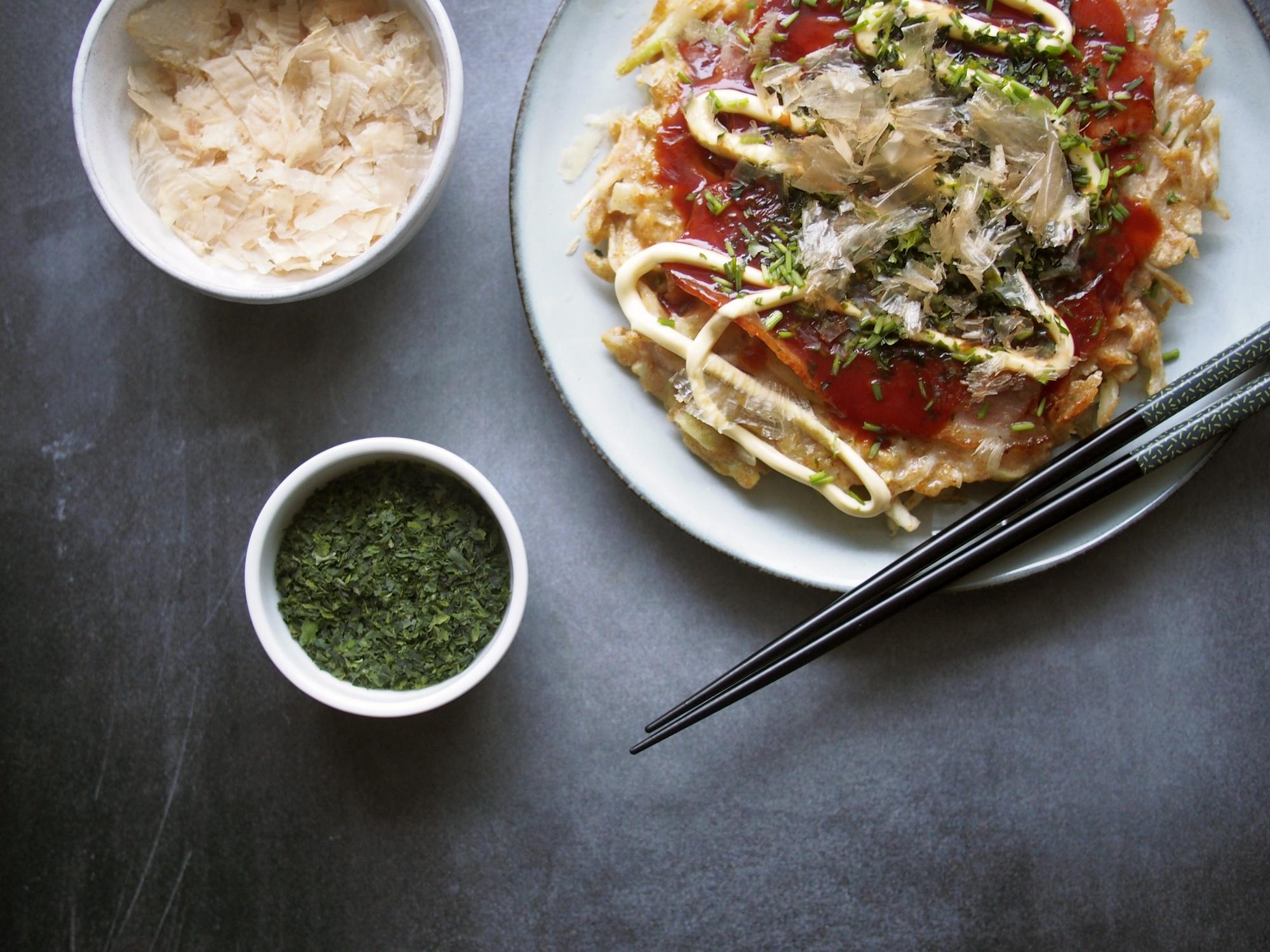 Okonomiyaki. Japoński naleśnik
